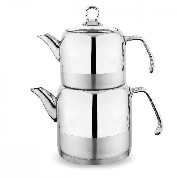 Schafer Ada Küçük Çaydanlık - Çelik Saplı