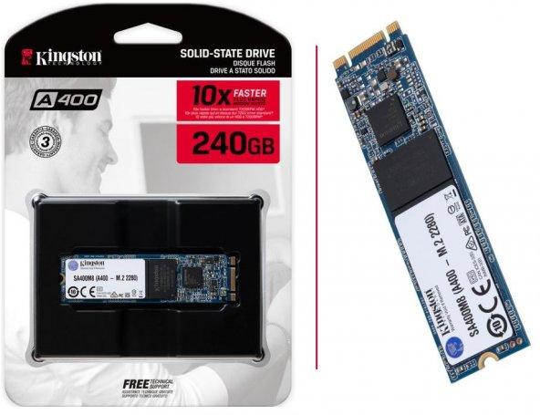 240GB Kingston A400 M.2 2280 500MB-320MB/s Sata3 SSD (SA400M8/240G)