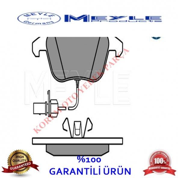 AUDİ A4-A5-A6 2007-2017 FİŞLİ ÖN BALATA