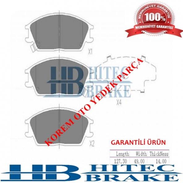 HYUNDAİ ACCENT 1995-2005 EXCEL-GETZ ÖN BALATA