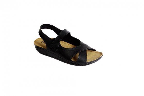 Aryan T08-090 Kadın Günlük Comfort Sandalet 4 Renk