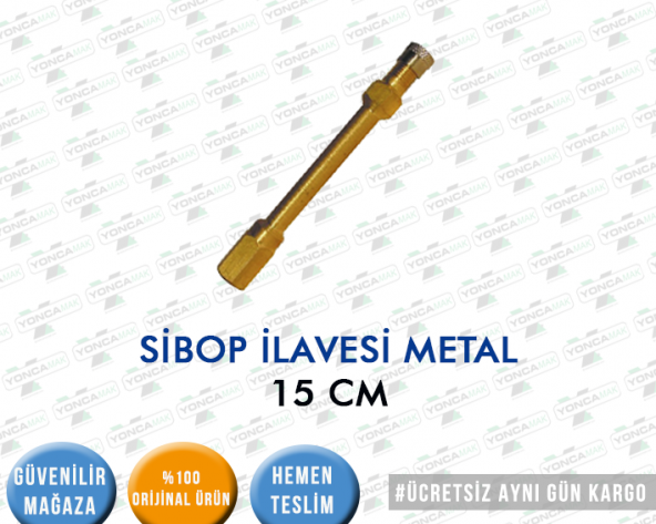 SİBOP İLAVE METAL 15 CM