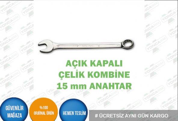 Kombine Anahtar 15 mm