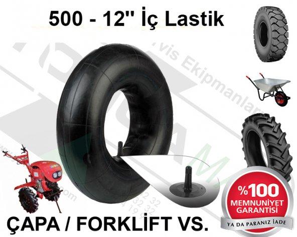 ÇAPA İÇ LASTİK 155/500 - 12 JANT