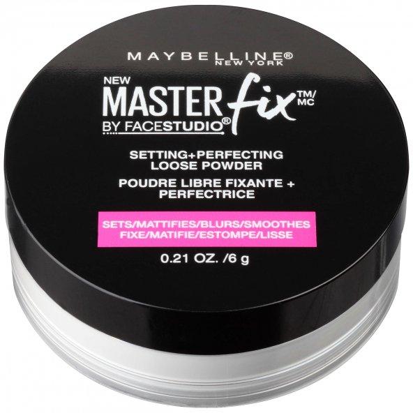Maybelline Master Fix Setting & Perfecting Transparan Toz Pudra