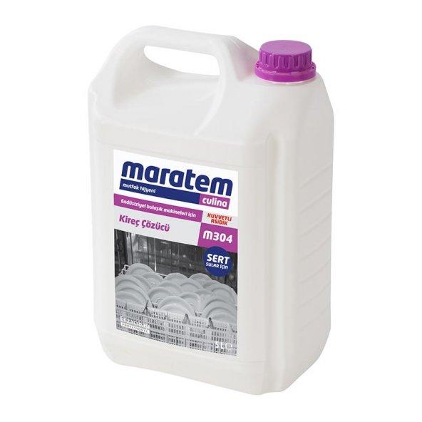 Maratem M304 Endüstriyel Bulaşık Makineleri için Kireç Çözücü 5lt