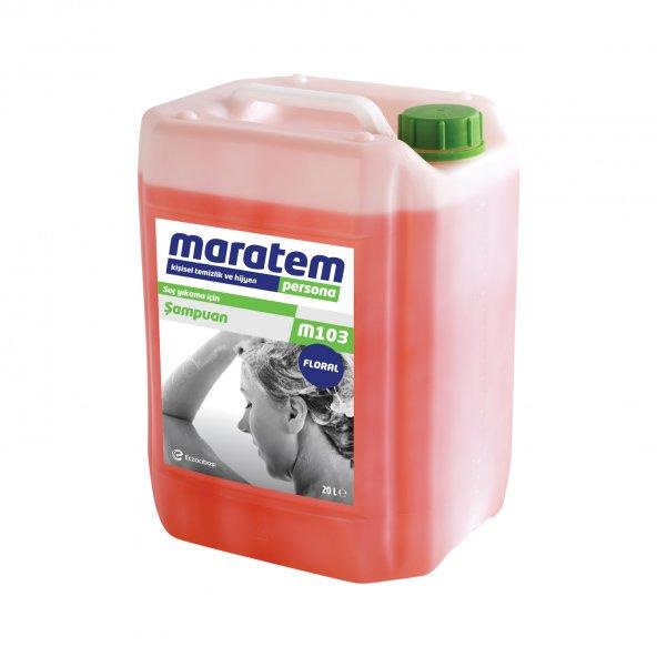 Eczacıbaşı Maratem M103 Saç Şampuanı 20 Lt Floral + Kargo