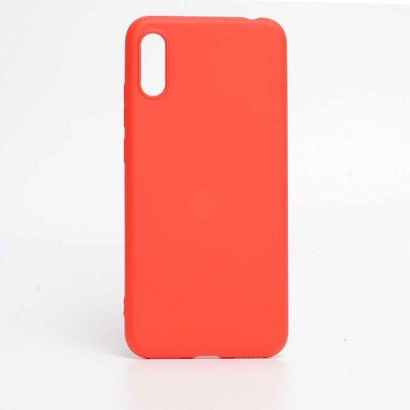 Edelfalke Apple iPhone XS Max 6.5 İnci Silikon Kılıf Kırmızı