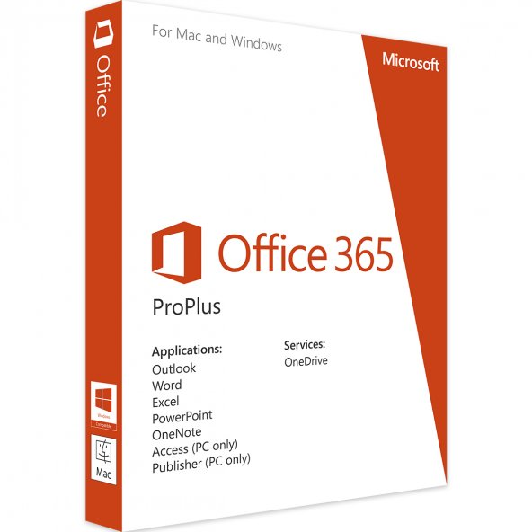 Office 365 - 5 (Pc, Mac, Android, iOS) - Orjinal