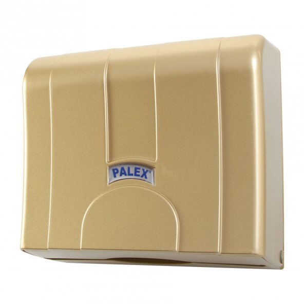 Palex 3570-G Standart Z Katlı Kağıt Havlu Dispenseri Gold