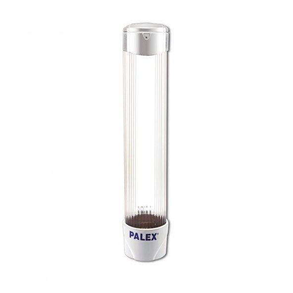 Palex S-U-V Plastik Bardak Dispenseri Vidalı Beyaz