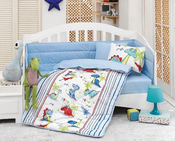 Cottonbox Ranforce Bebek Uyku Seti DİNO
