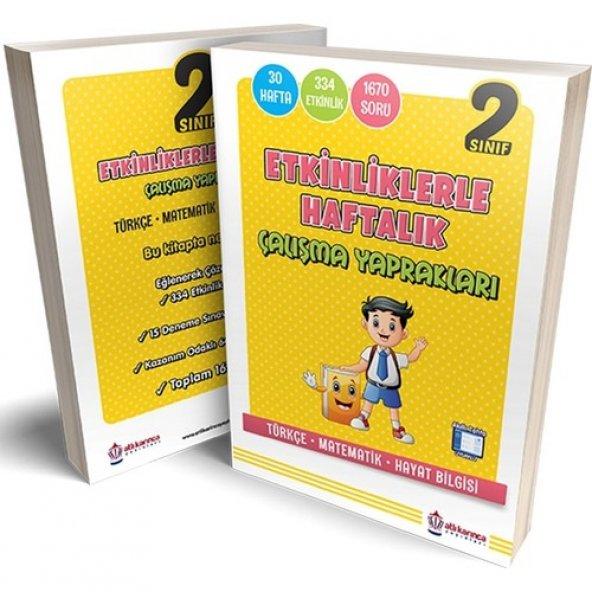 Artıbir Yayınları 2. Sınıf Etkinlikler Haftalık Çalışma Yaprağı Artıbir Yayınları