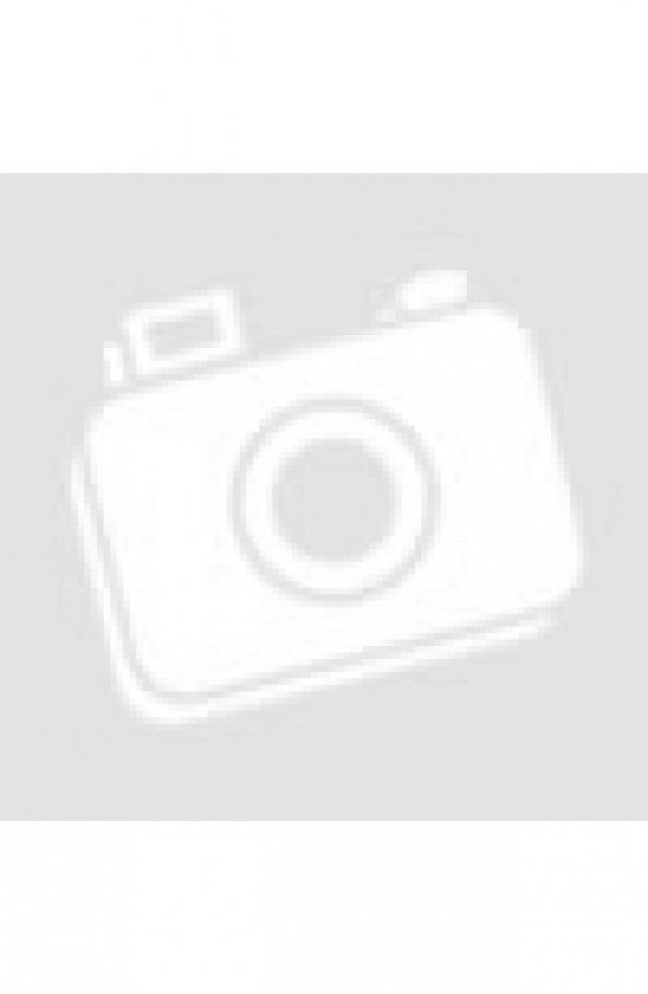 61919 Fermuarli Tesettür Tunik - Indigo