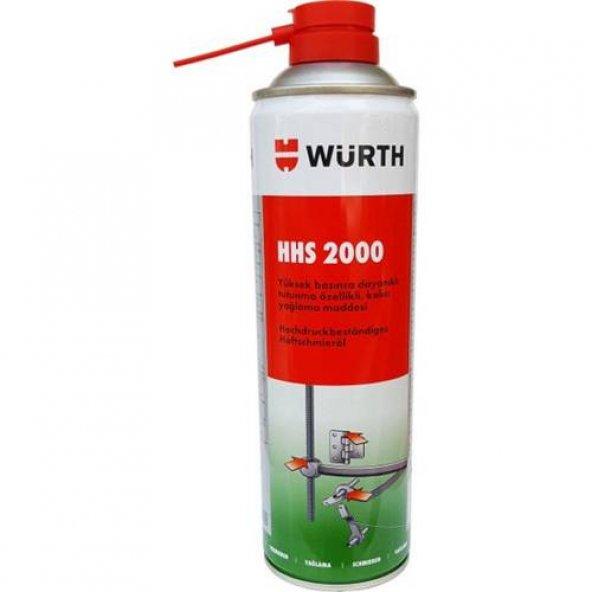 (Tiryakioğlu) Würth HHS 2000 Sıvı Gres 500 Ml - Yeni Ürün
