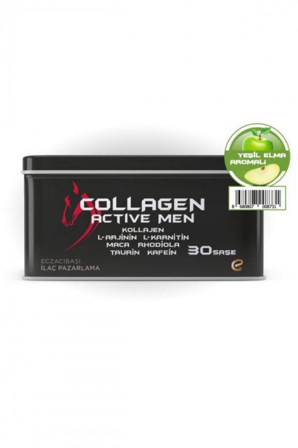 Voonka Collagen Active Men 30 Saşe Yeşil Elma