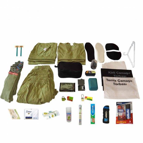 6'lı Öneri Asker Seti Bedelli ve Acemi Asker Malzemeleri Paketi