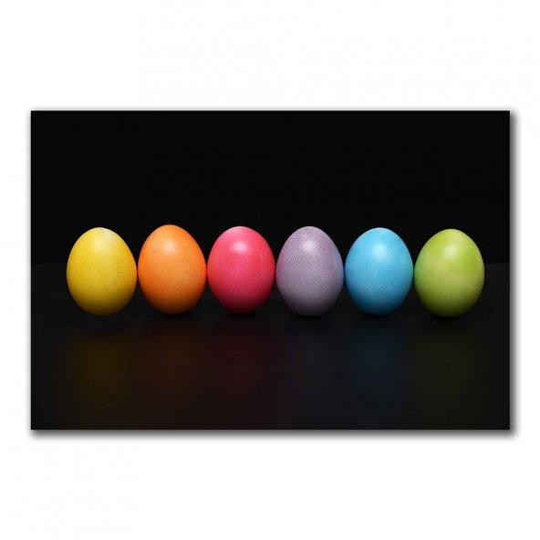 Tablohome - Renkli Yumurtalar Kanvas Tablo