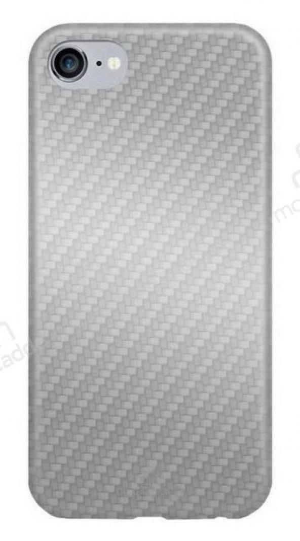 Totu Design Athena Series iPhone 7 / 8 Silver Silikon Kılıf