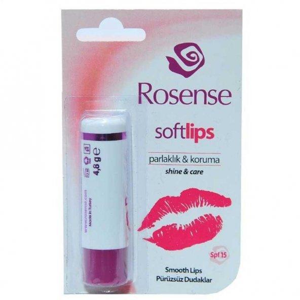 Rosense Softlips Spf15 Klasik 4.8 g Dudak Nemlendirici