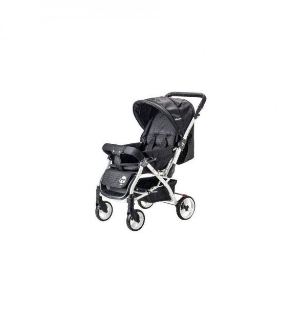 Baby Care Dinamico Çift Yönlü Bebek Arabası - Siyah