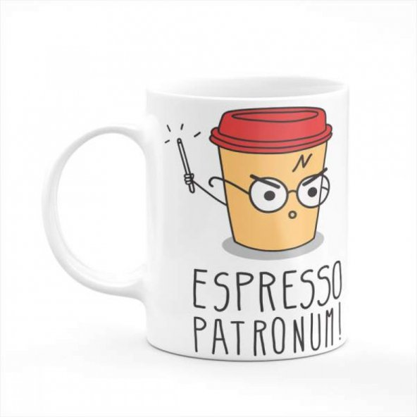 Harry Potter - Espresso Patronum Baskılı Kupa