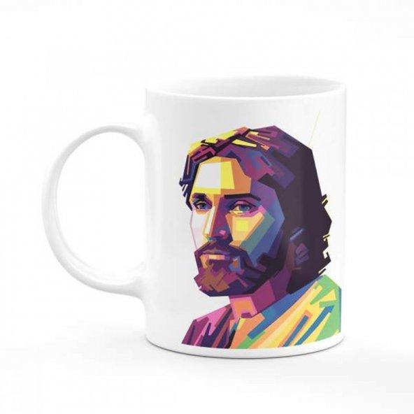 İsa Peygamber Baskılı Kupa