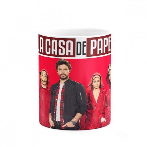 La Casa De Papel Baskılı Kupa