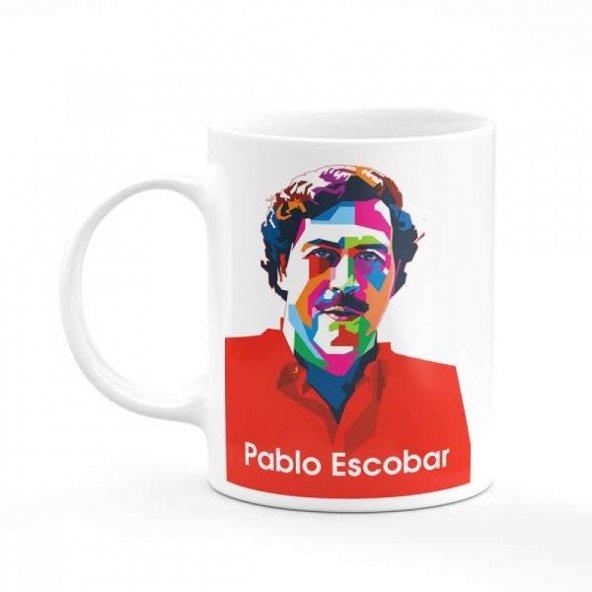 Pablo Escobar Modern Baskılı Kupa