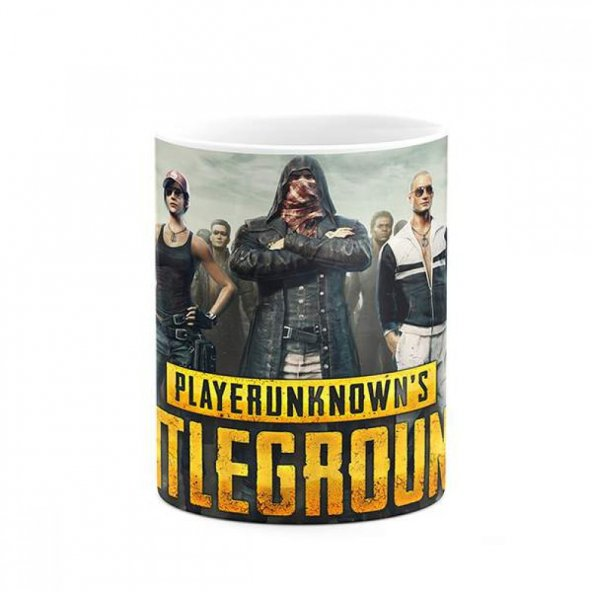 PlayerUnknowns Battlegrounds PUBG İsme Özel Baskılı Kupa
