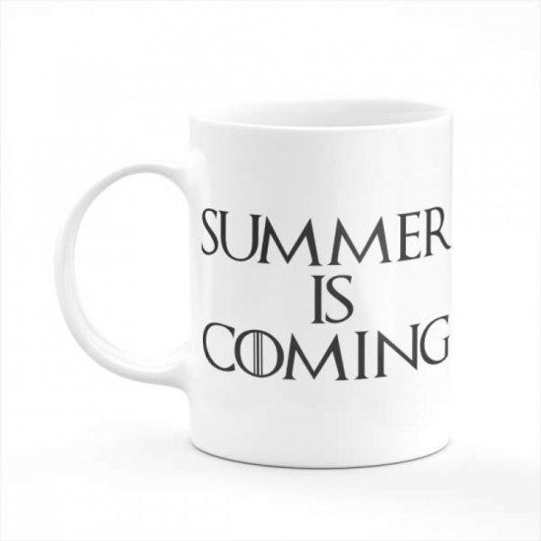 Summer Is Coming Baskılı Kupa