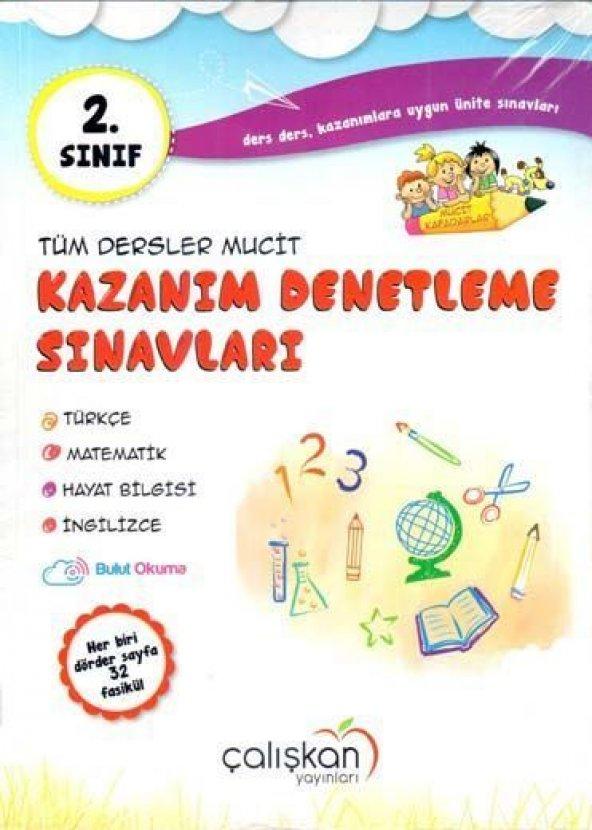 Çalışkan Yayınları 2. Sınıf Tüm Dersler Mucit Kazanım Denetleme Sınavları
