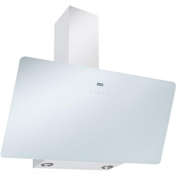Franke Glass Linear Vertical FPJ 915 V WH /SS White glass Davlumbaz