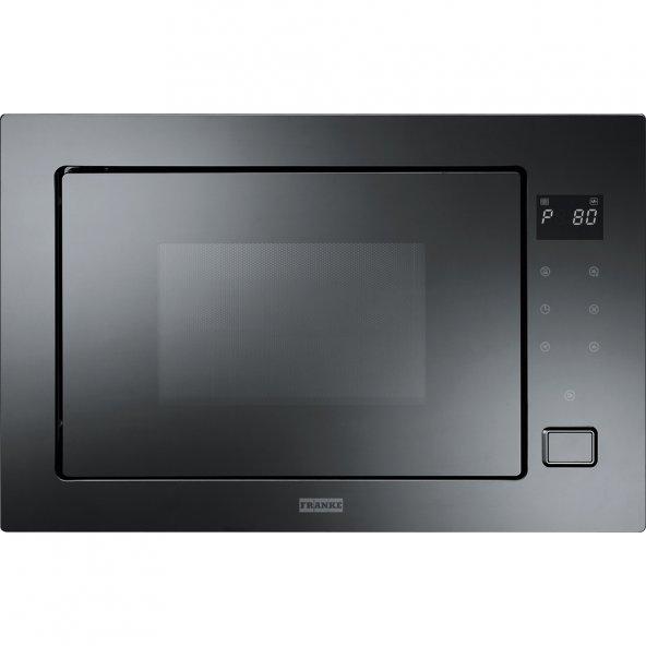 Franke Microwave Crystal FMW 250 CR2 G BK Cristallo Nero Mikrodalga Fırın