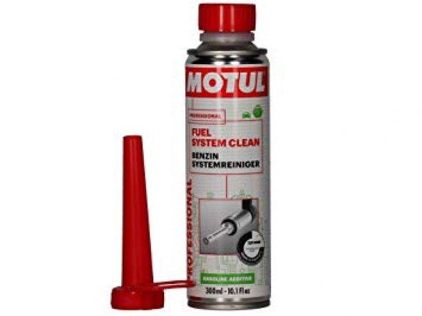Motul Fuel System Clean Benzinli Yakıt Katkısı 300 Ml.