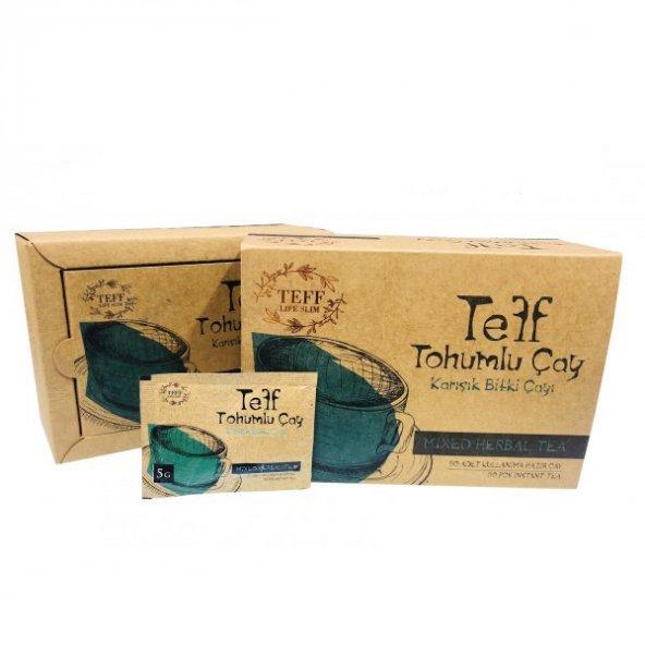 Teff Tohumlu Çay (Teff Tohumu Çayı) 30 Günlük Kullanım