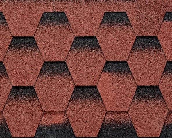 Galaksi Modern Shingle Kırmızı / 1 Paket = 2.61 metrekare
