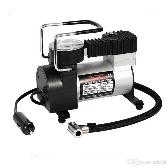 Mini Çelik Hava Lastik Kompresörü 12 V