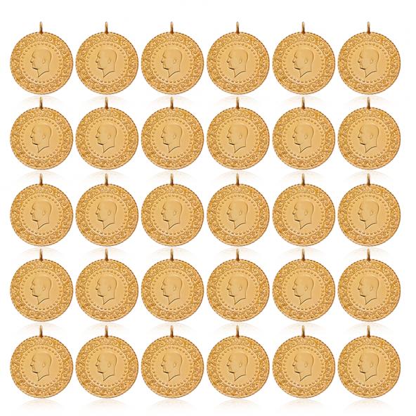 Çeyrek Altın Darphane 30 Adet Paket Yeni Tarihli 2019