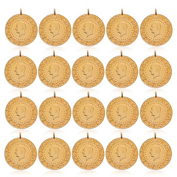 20 Adet Paket Yarım Altın Darphane Eski Tarihli