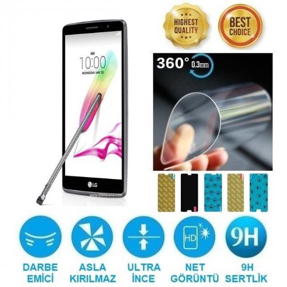 LG G4 Stylus Nano Kırılmaz Ekran Koruyucu