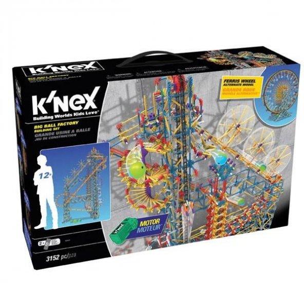 Neco 52443 KNex Big Ball Factory Seti (Motorlu) Thrill Rides