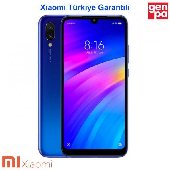 XİAOMİ REDMİ 7 32GB DUAL-MAVİ-(Xiaomi Türkiye Garantili)