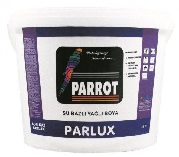 Parrot Parlux Su Bazlı Yağlı Boya 0,75 Litre Siyah