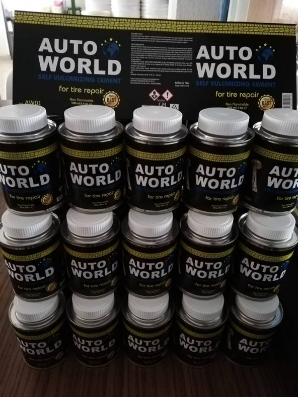 AUTO WORLD LASTİK YAPIŞTIRMA SOLÜSYONU 280 GRM