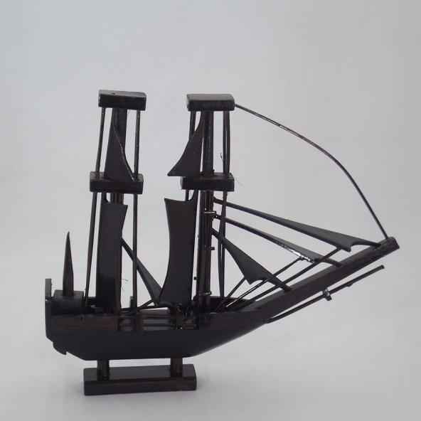 Dekoratif Ahşap Gemi