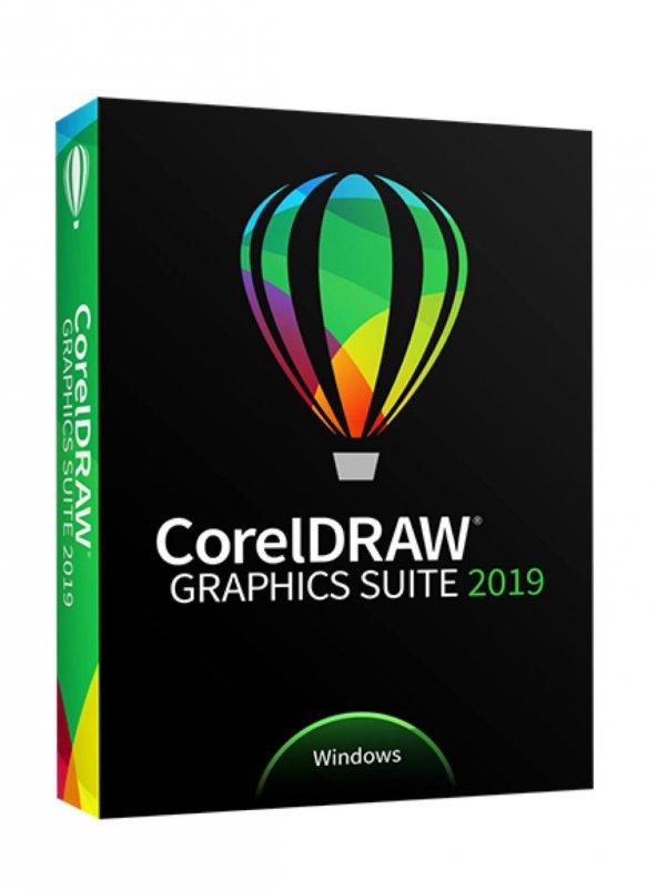 Corel DRAW Graphics Suite 2019 1 PC Education for Windows (Kutulu Ürün)
