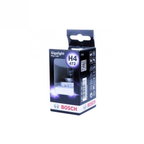 Bosch Gigalight Plus 120 H4 Ampül