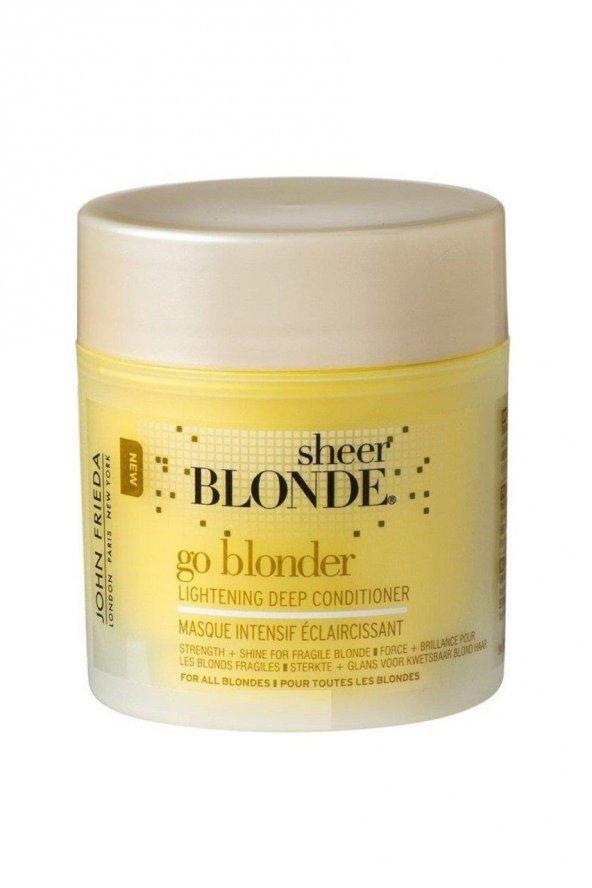 John Frıeda Sarı Saçlara Güneş Işıltısı Veren Yoğun Bakım Maskesi