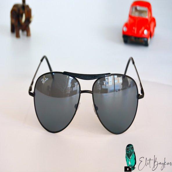 Siyah Çerçeveli Damla Gözlük